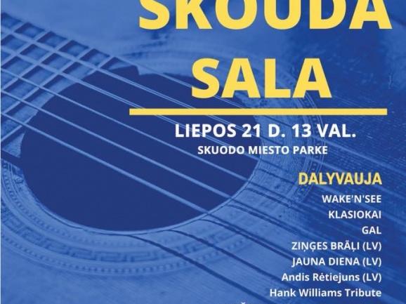 Geros muzikos festivalis Skuode