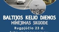 Baltijos kelio diena Skuode