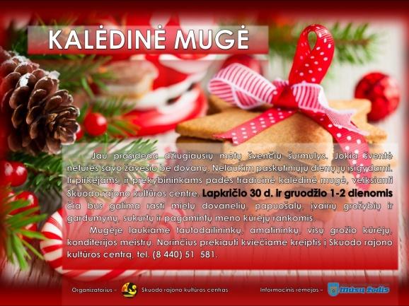 Kalėdinė mugė Skuode